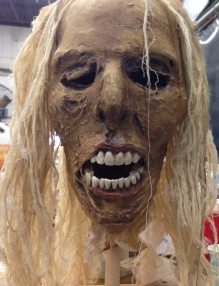Wynonna Earp Stone Witch mummy head